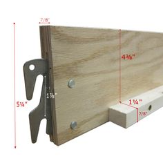 Replacement Wood Bed Rails for Queen/King  sc 1 st  Pinterest & Universal Wood Bed Rail 2