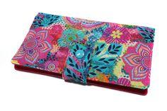 porte-chéquier cartes tout en un en tissu coloré à fleurs : Porte-monnaie…