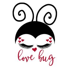 Excited to share this item from my shop: Lovebug Ladybug Valentine's Day hearts SVG Valentines Day Drawing, Valentines Day Quotes For Him, Valentines Design, Valentines Day Shirts, Valentine Crafts, Happy Valentines Day, Valentine Sayings, Valentines Day Doodles, Valentine Images