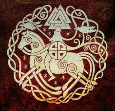 The Valknut, norse mitology.