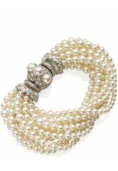 Wild Pearl bracelet