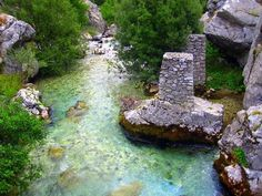The Valbonë or Valbona is a river in northern Albania. It is still relatively untouched. Its source is in the Prokletije, near the border with Montenegro