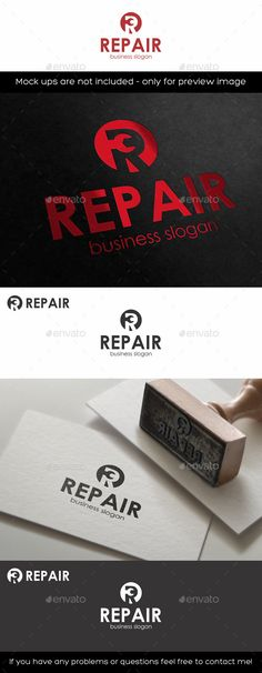 Repair Logo – R Letter – Simple and clean logo for service companies or mechanical service company. – Great logo template suitable for companies or product names whose name starts with the letter R. Is suitable for automotive business, auto repair, auto garage, auto moto race, car business, software development businesses, media, design agencies, video developers, marketing, print and photography businesses, auto,car, moto, bike, mobile and other repair service,etc.