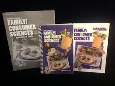 Abeka Home Economics Family/Consumer Sci.  Tests, Student, Lab, LN, Homeschool #TextbookBundleKit