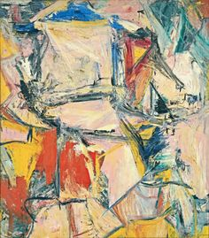 Willem de Kooning (1904-1997), Interchanged, 1955. oil on canvas, 201 x 175 cm