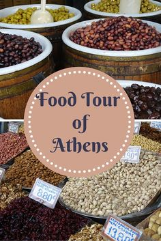 One of the top tours to do in Athens Greece is a food tour, where you will have the chance to taste and learn how traditional Greek products like olives and wine are made while you discover great neighborhoods