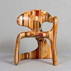 asymmetrical patchwork seating