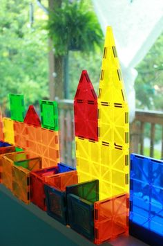 Need a super fun, open-ended toy idea for your kids? Check out the different ways magnetic tiles can be used... (Comparisons and photos)