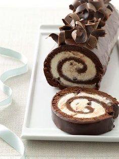 Bolo de chocolate Peppermint Ice Cream.  por allison.heart.cares