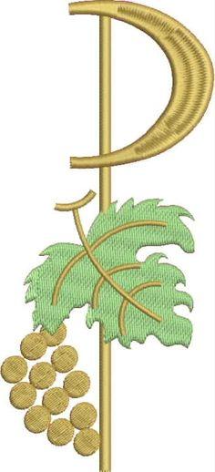 Corpus Christi, Chi Rho, Church Banners, Eucharist, Communion, Machine Embroidery, Jewelry Box, Confirmation, Drawings