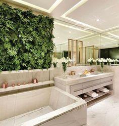 52 Ideas For Bathroom Plants Shower Toilets Bathroom Interior Design, Home Interior, Decor Interior Design, Inspiration Design, Decoration Inspiration, Bathroom Plants, Small Bathroom, Bathroom Green, New Bathroom Ideas
