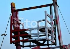 Whirligig objects at the Bay of Bengal - Stock Image royalty-free stock photo