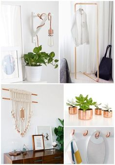 Copper DIY projects for your home.