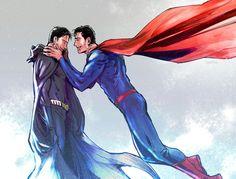 "Read SUPERBAT 32 from the story 🖤 imágenes ""SUPERBAT"" 🖤 by Patyneko (Ana Patricia) with reads. Superman X Batman, Superman Family, Otp, Sherlock, Marvel Dc Movies, Superbat, Harry Potter, Clark Kent, Dc Heroes"