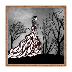 Amy Smith Lost In The Woods Shower Curtain | DENY Designs Home Accessories