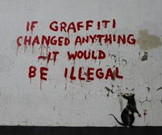 banksy | New Banksy street piece in London references arrests in LA | Capturing ...