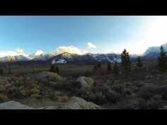 Mammoth Lakes, Ca spring time-lapse