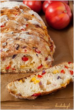 Chlebek pizza - I Love Bake Bread Recipes, Grilling, Picnic, Sandwiches, Rolls, Food And Drink, Yummy Food, Snacks, Baking