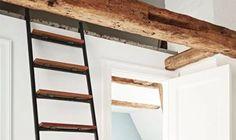 Relaxing Scandinavian Loft With Textural Touches