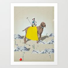 Look Art Print by Tilman Faelker - $19.00