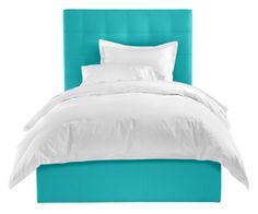 Room & Board - Avery Twin Storage Bed in Ocean  #roomandboard #annies #yolocolorhouse