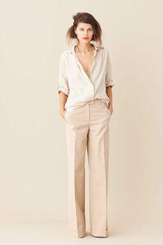 minimalist glamour.