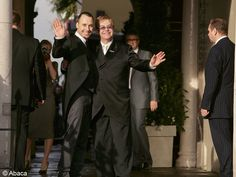 Le mariage de Elton John et David Furnish / Les meilleures photos de mariage de stars