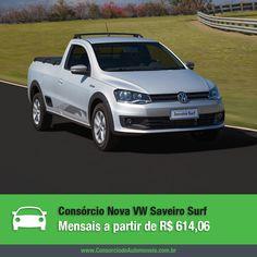 A Volkswagen acaba de lançar a nova Saveiro Surf e quer chamar a atenção principalmente dos consumidores mais jovens. Confira os detalhes na matéria: https://www.consorciodeautomoveis.com.br/noticias/volkswagen-saveiro-surf-a-partir-de-r-614-06-mensais?idcampanha=206&utm_source=Pinterest&utm_medium=Perfil&utm_campaign=redessociais