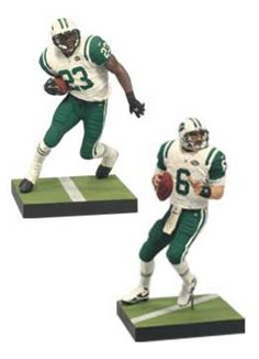 Mcfarlane NFL Mark Sanchez & Shonn Greene New York Jets Collector's Edition Action Figure 2-Pack