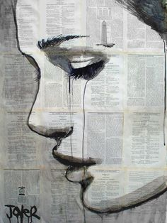 "Saatchi Online Artist: Loui Jover; Pen and Ink, Drawing ""myth"""