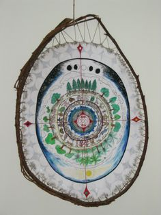 The story of the teaching shield, 'Grandmother Spider And The Web Of Life',  encompasses All Our Relations of seven layers of Earth and seven layers of  sky in walking around the Medicine Wheel.