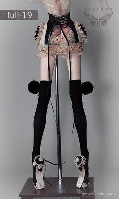 Popovy Sisters – Art dolls by Popovy Katya & Lena Bjd Dolls, Barbie Dolls, Bad Barbie, Popovy Sisters, Porcelain Dolls Value, Sisters Art, Enchanted Doll, Living Dolls, Creepy Dolls