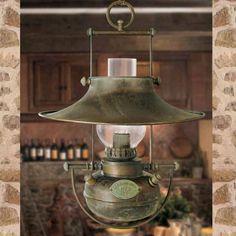 Antyczna lampa wisząca Guadalupa 6515083