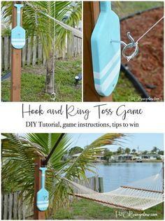 DIY Backyard Games for summer outdoor family fun. DIY games that you can make and play. Get away from the electronics and get outdoors! Backyard Games Kids, Diy Yard Games, Outdoor Games For Kids, Lawn Games, Outdoor Yard Games, Backyard Ideas, Backyard Play, Indoor Games, Outdoor Toys