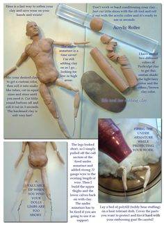 sculpting male doll
