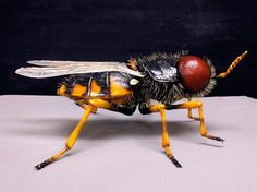 Austrian Man Creates Extremely Detailed 3D Printed Insects on Form 1+ 3D Printer http://3dprint.com/18262/3d-printed-insects/