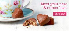Meet your new summer love at Lily O'Brien's Chocolates Chocolate Gifts, Summer Of Love, Chocolates, Lily, Meet, Seasons, Desserts, Food, Tailgate Desserts