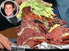 Tim Tebow gets his own sandwich at famed N.Y.C. eatery Carnegie Deli. Read about what's in it: http://www.people.com/people/article/0,,20583860,00.html