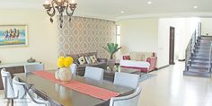 A fresh living room in A Warm Contemporary Home - Santa Ana - Costa Rica http://lxcostarica.com/property/A-Warm-Contemporary-Home