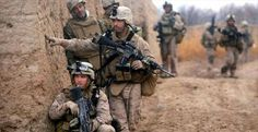 Marine Infantry in Afghanistan - Bing images Us Marines, Marsoc Marines, Us Military, Us Army, Military Photos, Military Weapons, Offroad, Afghanistan War, War Photography