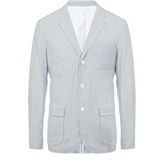Polo Ralph Lauren Burnett Seersucker Sport Coat ($545) via Polyvore