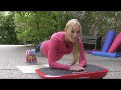 Vibration Exercise Machine Workout - YouTube