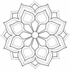 Dot Art Painting, Mandala Painting, Mandala Drawing, Mandala Dots, Mandala Pattern, Simple Mandala, Stained Glass Patterns, Mosaic Patterns, Simple Art Designs