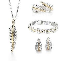 Tiffany Outlet Nature Leaf Hoop Set Check out Dieting Digest Jewelry Box, Jewelery, Jewelry Accessories, Jewelry Design, Cheap Jewelry, Wedding Accessories, Tiffany Bracelets, Tiffany Jewelry, Tiffany Outlet