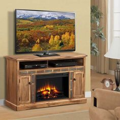 "AFW has an amazing selection from Sunny Designs including the Sedona 54"" Media Fireplace in stock or quick ship! Shop this and other items by Sunny Designs and save!"