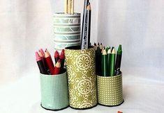 Agilize o seu tempo e decore a sua mesa de trabalho ou de estudo com um organizador de rolo de papel