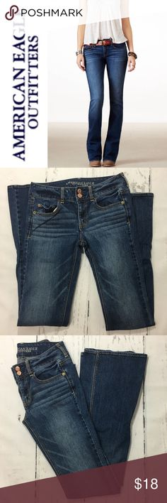 "American Eagle Artist Jeans ✔️99% Cotton•1% Spandex ✔️Long Inseam: 35"" ✔️Excellent Used Condition! American Eagle Outfitters Jeans"