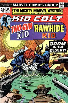 western comics covers | ... covers in the 1970s, the comics were worth collecting for that alone
