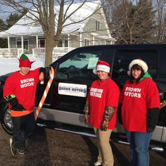 Brown Motors supporting the Petoskey Chamber Christmas Parade