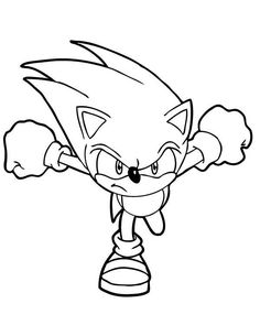35 Best Sonic The Hedgehog Coloring Page Images In 2020 Coloring Pages Sonic Coloring Pages For Kids